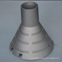L'usine en gros en aluminium a mené des pièces d'éclairage pour les ampoules menées