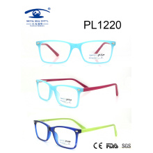 2017 New Design Square Shape PC Optical Glasses (PL1220)