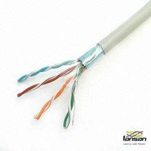 26awg ftp cat5e cable 4 paires fabriqué par l'usine de câbles professionnelle LANSAN