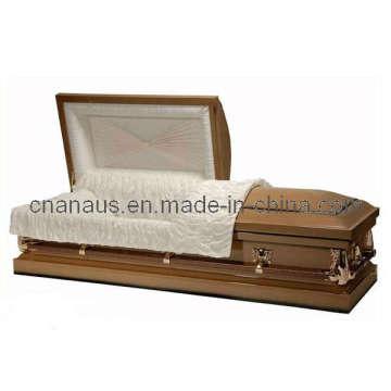 Estilo americano 20 Ga aço caixão (20H 2028)