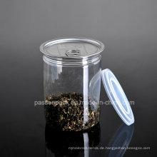 Haustier Plastikfutterglas mit Aluminium Easy-Open Deckel (PPC-CSRN-031)