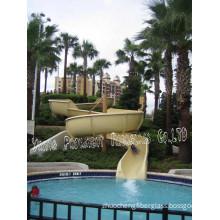 Outdoor Swimming Pool Playground Equipment