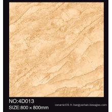 Fabriqué en Chine 60X60cm carreau de sol brillant en porcelaine poli