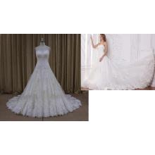 Robes de mariée en dentelle douce grande style Empire (SL315)