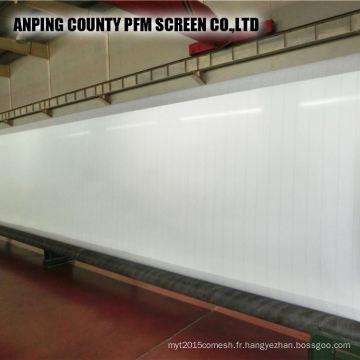 100% polyester formant des vêtements de tissu pour la fabrication de papier