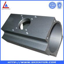 Boîtier d'échappement en aluminium Extrude OEM avec usinage CNC
