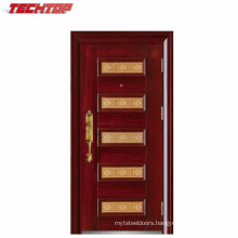 TPS-034 Single China Apartment Exterior Steel Door Design