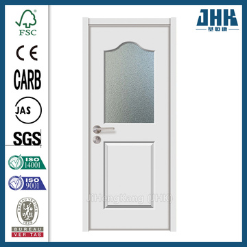 JHK Built Glass Inserts Wooden Interior Door