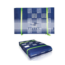 Nuevo diseño africano aso oke headtie gele Wrapper Ipele1 pc / set Muchos colores utilizados para la boda del partido ROYAL BLUE