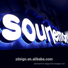 3D Led Frontlit Letters Channel Lit Letters Signs