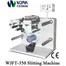 Máquina que raja de la etiqueta Wjft-350