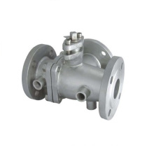 Jacket/Insulation/Heat Preservation Stainless Steel Ball Valve 2PC