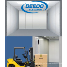 Elevador de carga de carga de espacio grande Warehouse