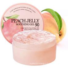 OEM Natural Peach Jelly Skin Moisturizing Soothing Gel