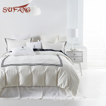 Classic hotel experience white egyptian cotton balfour bedding set