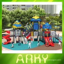 2015 benutzte Kinder bunte Outdoor-Helden Spielplatz Ausrüstung