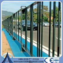 Clôture de piscine de protection métallique facilement assemblée en métal