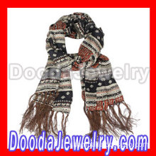 Long Oblong Fringed Silk Scarves 170*50cm Silk Scarf Man Wholesale