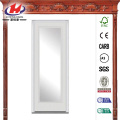 Full Lite Painted Fiberglass Smooth Front Door