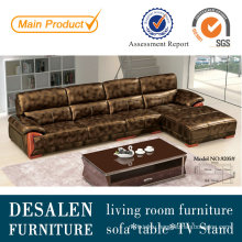 Luxury Modern Leather Sofa for Living Room Furniture (9205)