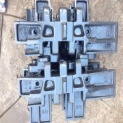 KOBELCO 7055 track pad for Crawler Crane Undercarriage Parts
