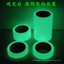 Glühen Tape / reflektierende Klebeband und Leuchten im Dunkeln