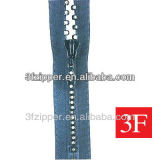 No. 3 Fancy Rhinestone zipper