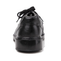 light oil and slip resistance leather steel toe men's work safety shoes