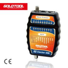 Cable Tester EZ Checker  F / RJ12 / RJ45  TCT-008