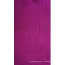 Tissu de polyester d'unité centrale Oxford de rayures de bambou de 450d