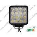 Светодиодные лампы рабочего освещения 48Вт 10-30В Светодиодные фары дальнего света Автоматические светодиодные фонари рабочего освещения Светодиодная линейка