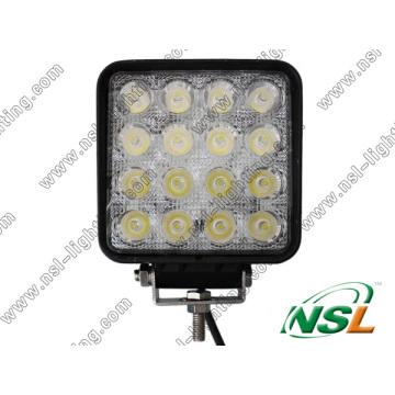 Luz de trabajo LED de 48W 10-30V Luz de conducción LED Luz de trabajo LED automática Luz de barra LED