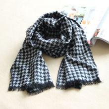 Шарф для одежды houndstooth, акриловый шарф