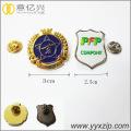 custom made metal soft enamel pin name badge