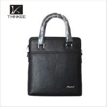Bolsa de couro de marca bolsa de couro de sacola dos homens de marca