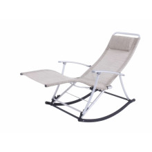 PriceList for for Folding Sun Loungers cosy textilene rocking lounge export to Aruba Suppliers