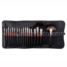 18PCS Professional Cosmetic Makeup Brush with Black Cosmetic Bag
