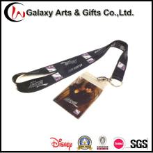 China Wholesale Silkprint Lanyard Neck Strap ID Pass Card Holder