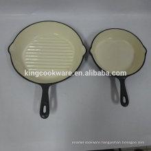 Enamel Cast Iron Mini Skillet