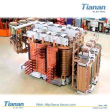 Reator elétrico do forno do arco