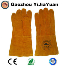 Cow Split Leather Gloves for Welding