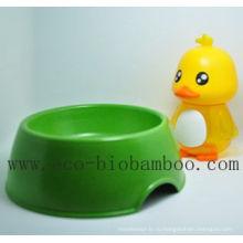 Bamboo волокна питания Pet Bowl с экологически чистым (BC-PE6005)