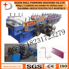 Máquina formadora de perfis CZU de operação simples