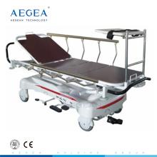 Компания AG-HS005 два отдельных гидравлических насосов больничные носилки для скорой помощи