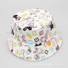 Venta al por mayor de algodón infantil personalizado color cubo Hat