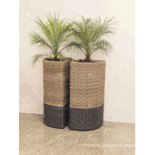 RAPL-014 New Trendy Poly Rattan Outdoor Decor Vasanello Planter