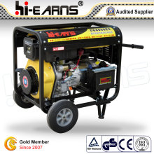 6kw Air-Cooled Open Frame Type Single Cylinder Diesel Generator (DG8000E3)