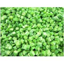 Frozen 1cm Cut Okra; Frozen Okra