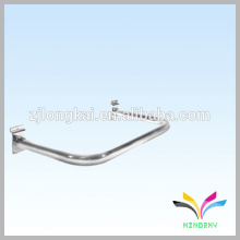 Chrome plated bathroom handrail U shape metal hanger hook