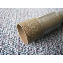 18 mm broca broca/cone-haste da broca broca de diamante pouco / sinterizado / broca para perfurar o vidro do diamante